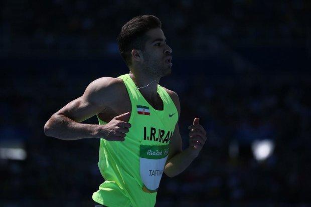 Iran's Taftian wins gold at Diamond League