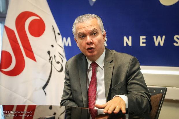 Brezilya'nın Tahran Büyükelçisi Mehr'i ziyaret etti