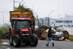 اعتراض کشاورزان فرانسوی