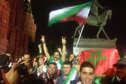 واکنش هواداران مراکشی به شکست سنگین تیم ملی عربستان برابر روسیه