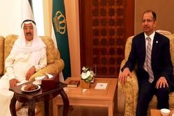 رایزنی رئیس پارلمان عراق با امیر کویت