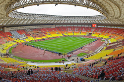 استادیوم ماژولی که به سالن کنسرت تبدیل می شود