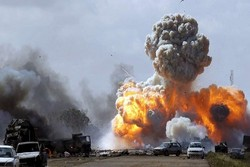 انفجار لیبی