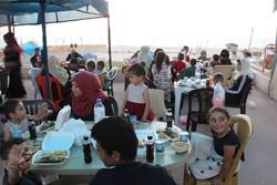 غزہ میں ایران کی طرف سے افطاری کا اہتمام