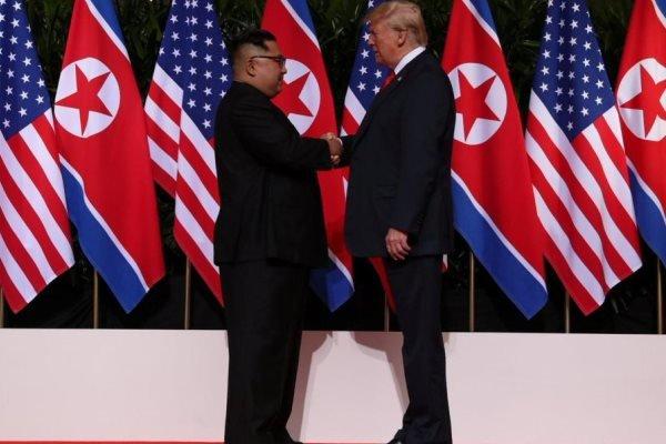 دیدار ترامپ و کیم