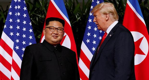 شمالی کوریا کا جوہری میزائلوں کی نمائش نہ کرنا ایک مثبت قدم ہے، ٹرمپ
