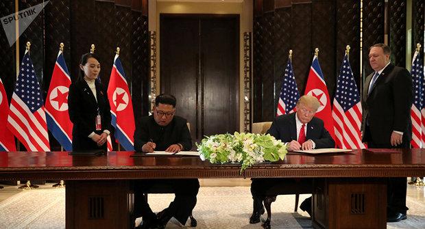 الاجتماع بين ترامب وجونغ أون يهدد الأمن القومي الأميركي