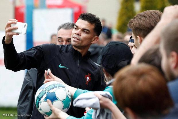 تمرینات تیم ملی پرتغال در روسیه