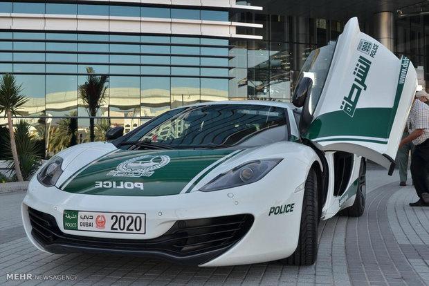 خودروهای پلیس امارات