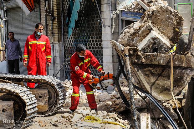 إنفجار بمدينة قم قرب محطة قطار الانفاق