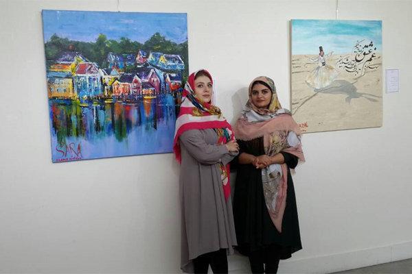 نمایشگاه نقاشی «شمس، مولانا» در فرهنگسرای ارسباران