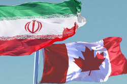 پرچم ایران و کانادا