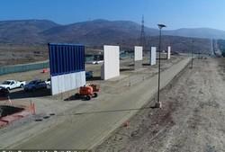 آزمایش دیوار دیجیتالی در مرز آمریکا و مکزیک