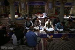 مراسم اعتکاف دانشگاه علوم پزشکی شهیدبهشتی برگزار می شود