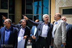بازدید رئیس دانشگاه آزاد از مجتمع جدید سوهانک