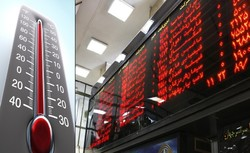 Stock market index closes at near 100,000 points