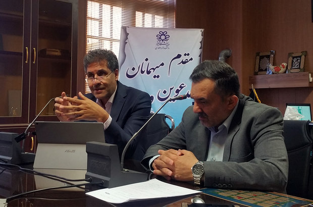 نشست خبری سرپرست و اساتید دانشکده هنر و معماری شیراز