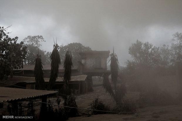 شهر مدفون در خاکستر