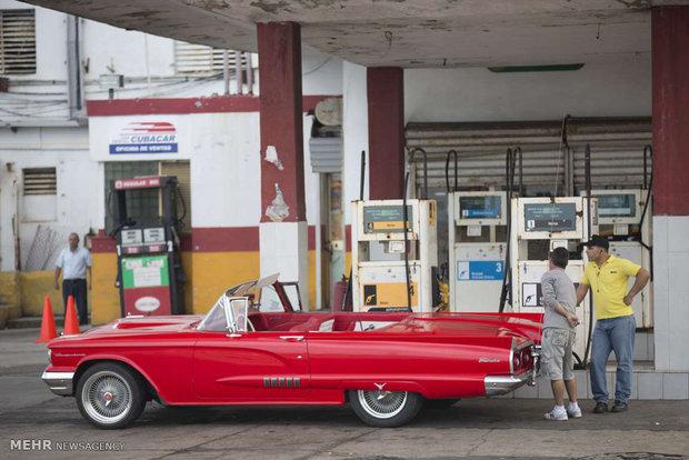 Fotoğraf: Küba'nın nostaljik arabaları
