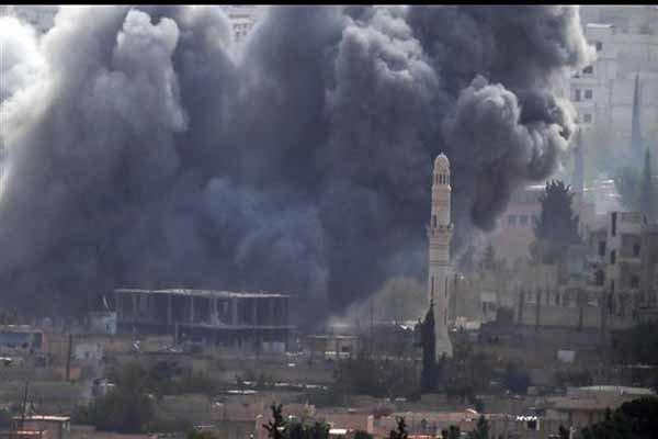 امريكا تدافع عن الإرهابيين في سوريا