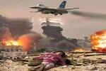 یمن کے صوبہ الحدیدہ پر سعودی عرب کے جنگی طیاروں کی بمباری سے 5  افراد شہید