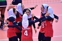Iranian girls rout India at Asian volleyball C'ships