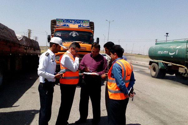 بازرسی از شرکت های  حمل و نقل در قزوین افزایش می یابد