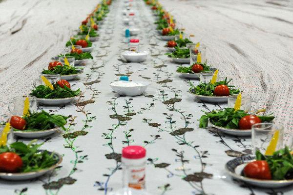 ۲۰ هزار غذای افطاری توسط اوقاف قزوین توزیع شد