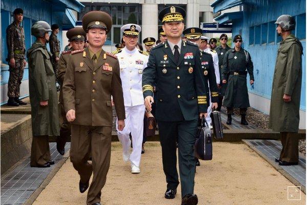 مقامات ارشد نظامی کرهشمالی و کرهجنوبی