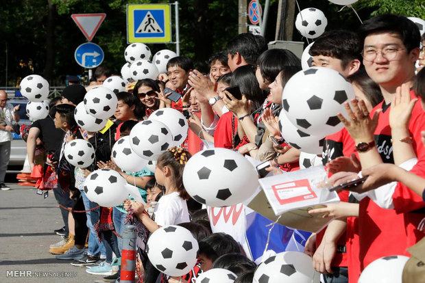 حضور علاقمندان به فوتبال در روسیه