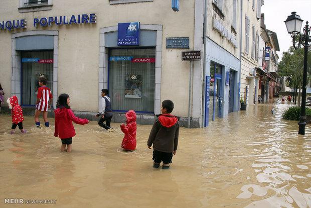 سیل در فرانسه