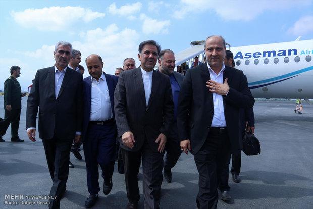 سفر عباس آخوندی وزیر راه و شهرسازی به گلستان