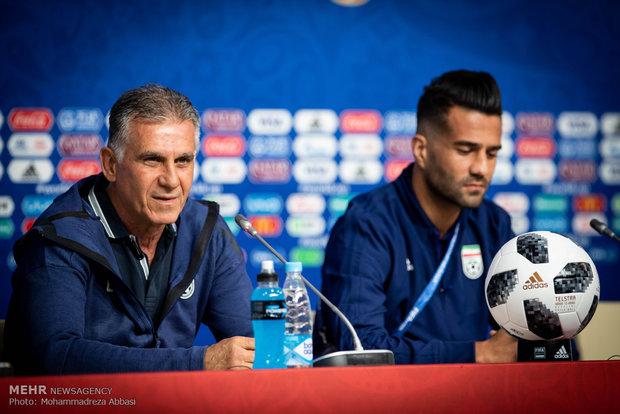 کنفرانس مطبوعاتی سرمربی تیم ملی فوتبال ایران