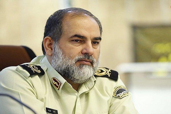 سردار شیرزاد رئیس پلیس بین الملل ناجا