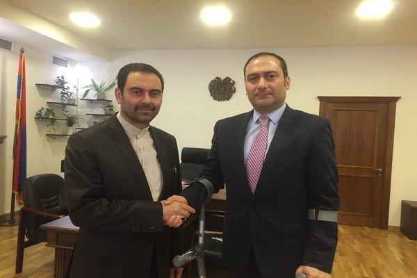 همکاری های حقوقی و قضایی میان ایران و ارمنستان افزایش یابد