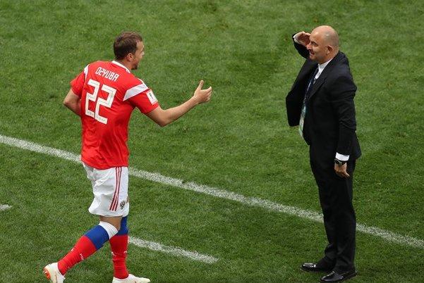 جام جهانی 2018 روسیه؛ سرمربی روسیه بعد از شکست عربستان: ریلکس هستم!