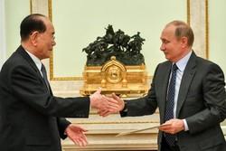 مقام عالیرتبه کره شمالی پیام «کیم جونگ اون»را به «پوتین»تقدیم کرد