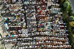 إقامة صلاة عيد في الفطر في مختلف المحافظات الايرانية/صور