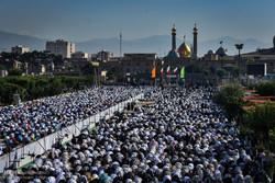اقامه نماز عید سعید فطر در حرم حضرت عبدالعظیم(ع)