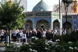 اقامه نماز عید سعید فطر در آساتن مقدس امامزاده معصوم (ع)
