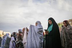 اقامه نماز عید فطر در امامزاده سید جعفر و حمیده خاتون