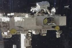 پیاده روی ۷ ساعته برای نصب دوربین روی ایستگاه فضایی بین المللی