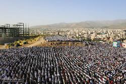 اقامه نماز عید سعید فطر در مصلی همدان