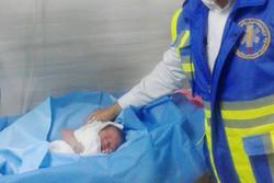 تولد نوزاد کلاله ای در آمبولانس