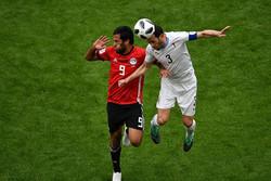 مصر- الأوروغواي: انتهاء الشوط الأول بالتعادل السلبي