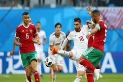 مباراة ايران والمغرب ضمن كأس العالم 2018 /صور