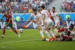 ايران تخطف فوزها الاول من المغرب 1-0