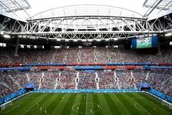 """بث مباريات كأس العالم 2018 بشكل حي في ملعب """"آزادي"""" غربي طهران"""