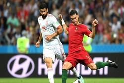 پرتگال اور اسپین کے درمیان میچ  3 ، 3 گول سے برابر رہا