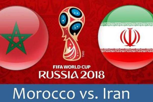 ايران تخوض اليوم أول لقاء لها في المونديال أمام المغرب
